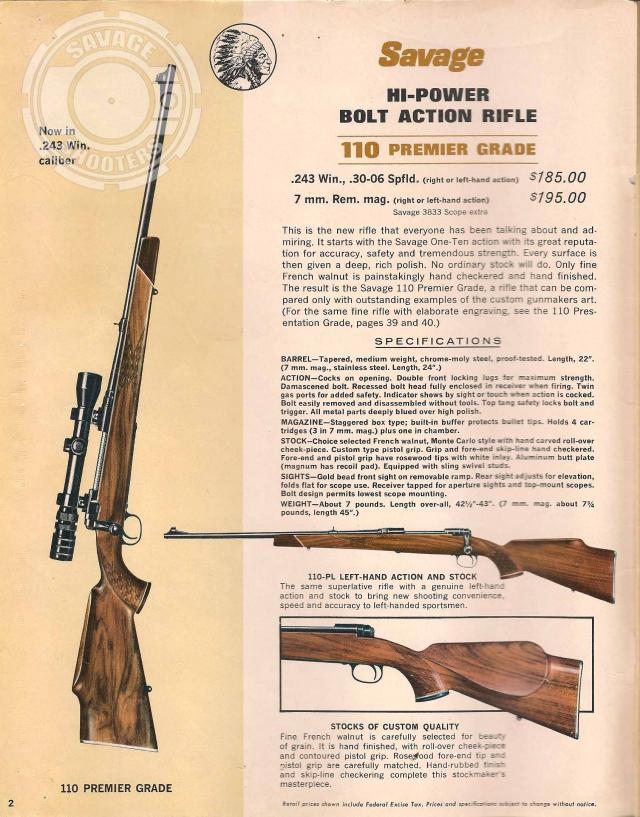 Savage shooters savage arms 1965 print catalog for 1965 stevens added the all new model 95 the model 73 and 73y the model 34 and the model 46 thecheapjerseys Image collections