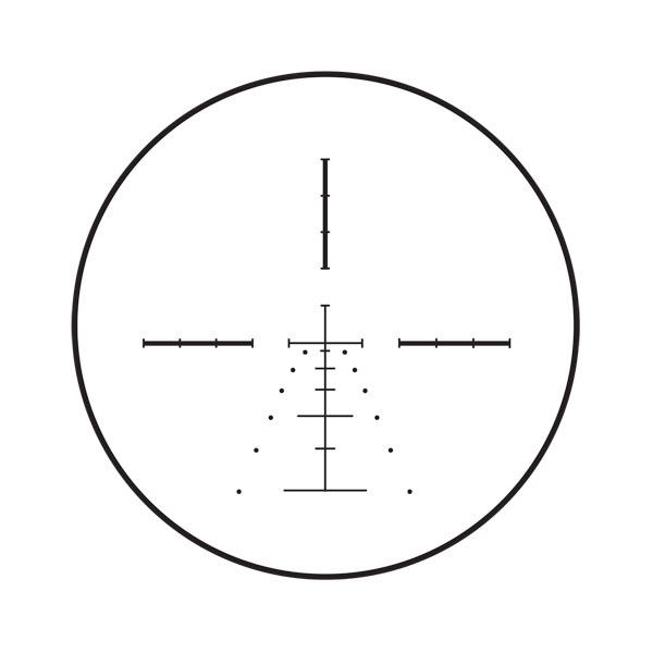 Burris E1-MV ballistic reticle