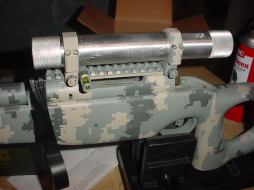 Bedding the scope base