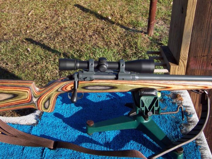 Completed rifle