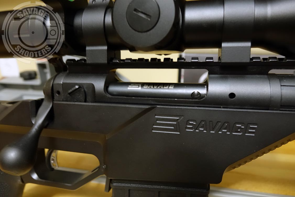 The Stealth is build around a standard Savage 110-style repeater action.