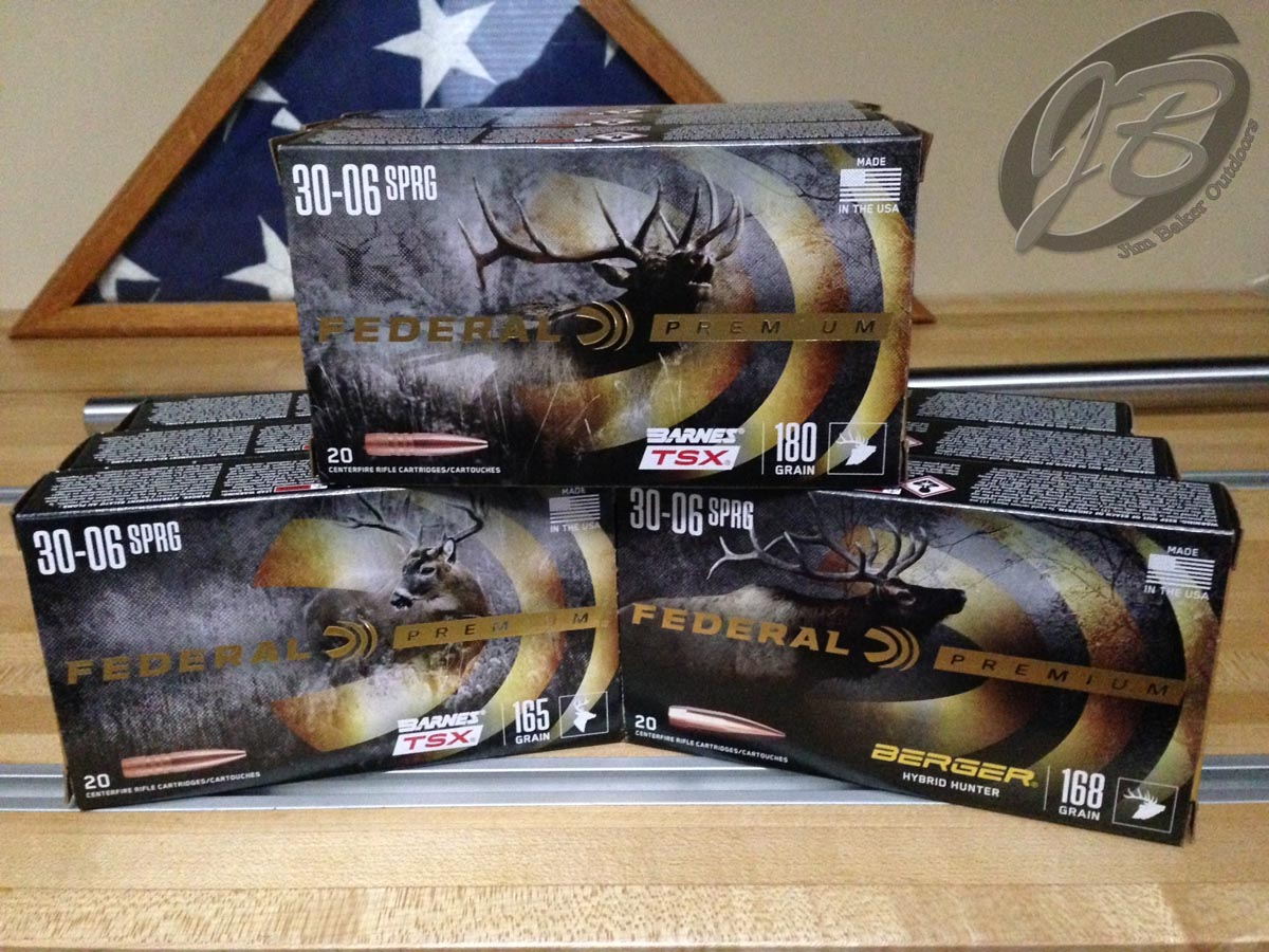 Federal Premium ammunition used during testing.