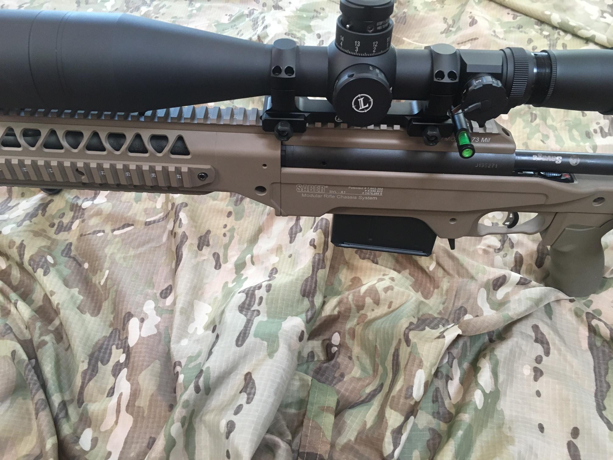 Savage Shooters - Ashbury SuperSport MOD-1 Modular Rifle Chassis