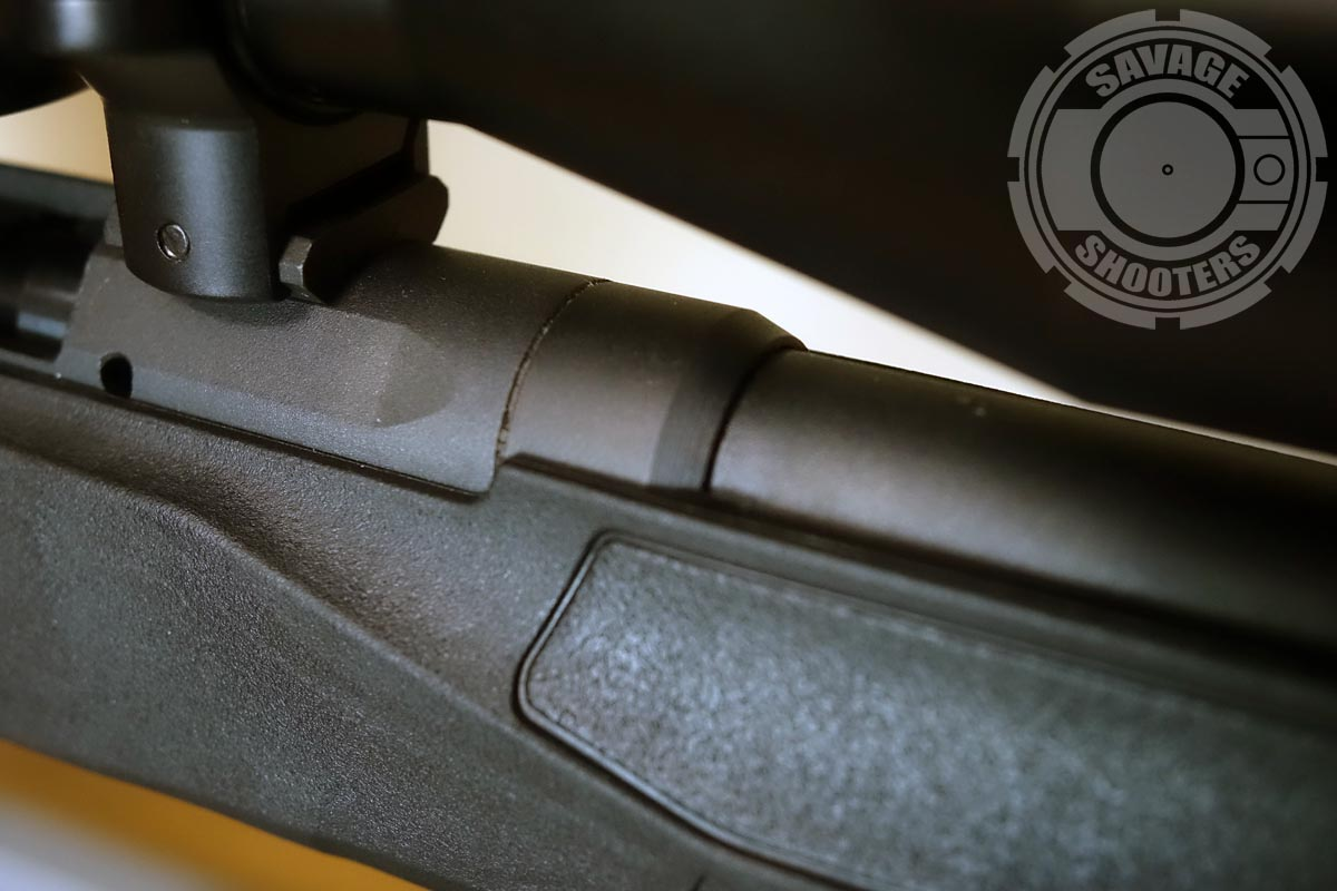 The new B-Series rifles have what appears to be a barrel nut to secure the barrel to the receiver.