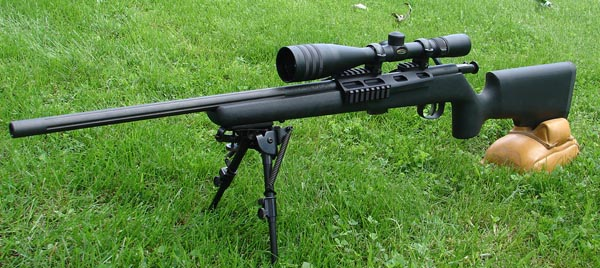 The TTR's McMillan A5-style stock is by far the best stock Savage has every bolted onto one of their rimfires.