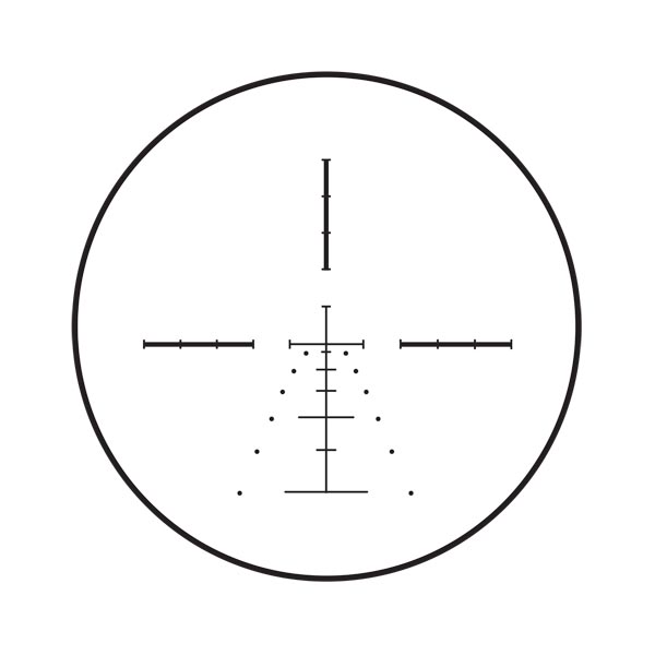 Burris E1-MV ballistic reticle