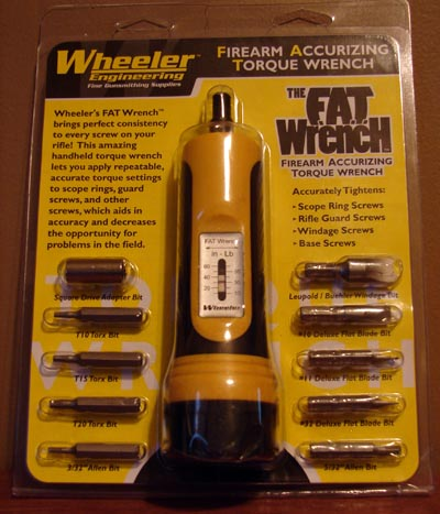 The FAT Wrench comes nicely packaged in this easy to open blister pack.