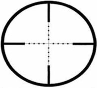 Fig.2-1 -- Mil Dot Reticle